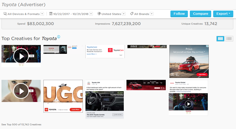AGENCY creative all page - spotlight on export