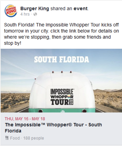 Burger King Tour Ad