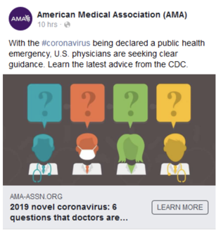 American Medical Association Digital Ads