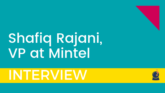 SalesTech Interview With Shafiq Rajani, VP At Mintel Comperemedia