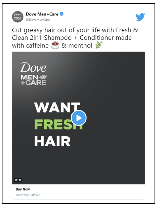 Dove Men's Care on Twitter