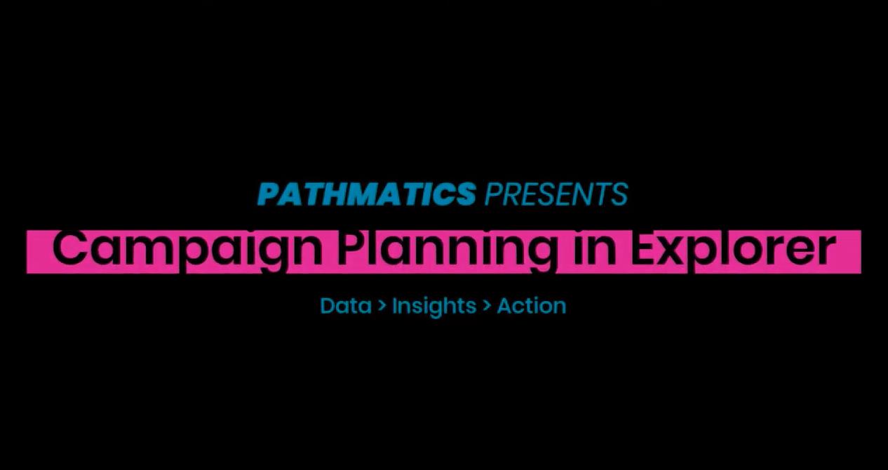 Data Analytics Platform Video Tour Guide for Pathmatics Explorer