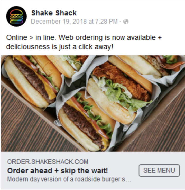 To beef, or not to beef? Digital ad strategies of the top burger brands