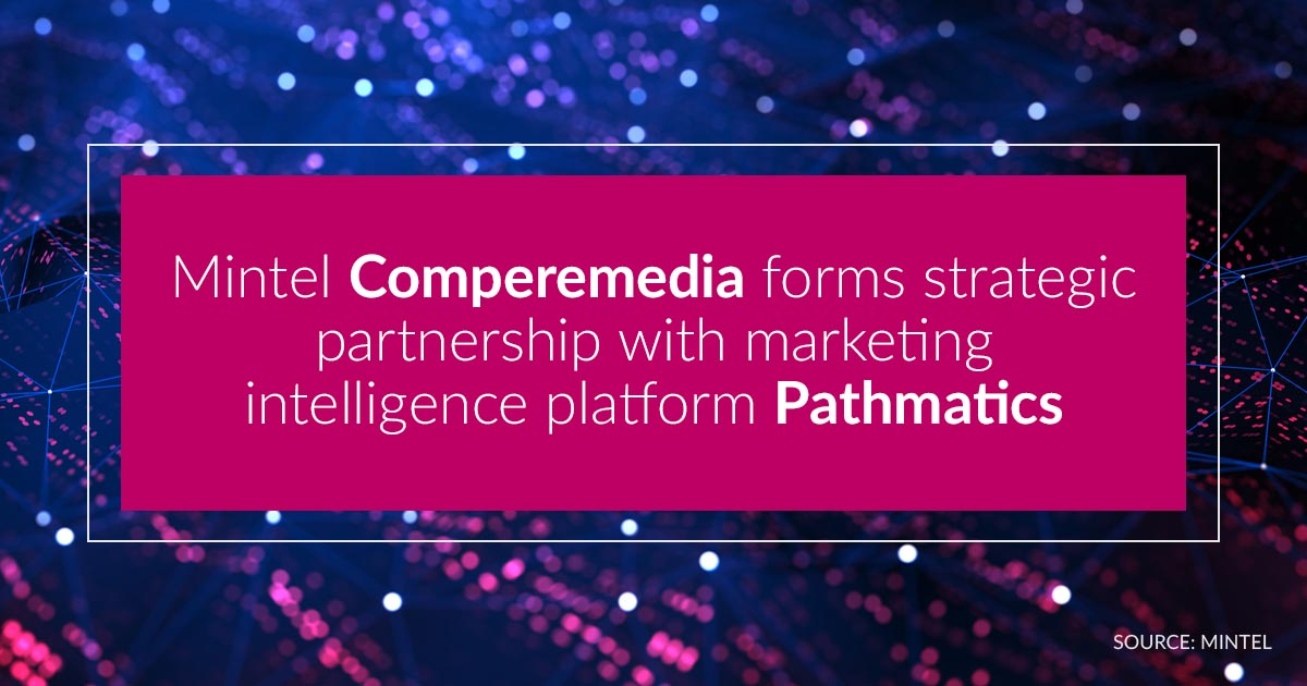 Mintel Comperemedia Forms Strategic Partnership with Pathmatics