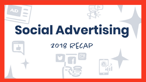social advertising recap red